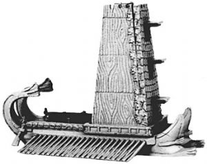 ANC10013 - Hellenistic siege towers with bolt & stone throwers